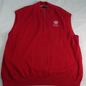 Trump National Golf Club Bedminster Red Vest 2XL